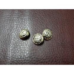 0484) Metri 1 di Passamaneria in strass argento con bordino rosa alta cm. 3