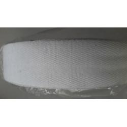 0328) Metri 1 di Passamaneria in tessuto nero decorata con ricami alta cm. 2,5