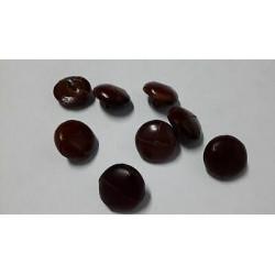0643) N. 6 Applicazioni decori in cotone lavorato dimensioni cm 9,5x8 cad.
