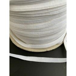 2305) 20 mt nastro sbieco cotone 100% verde salvia 893 fettuccia