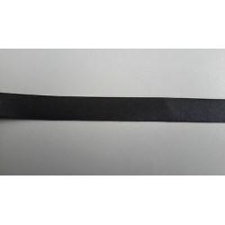 2313) 20 mt nastro sbieco cotone 100% grigio 518 fettuccia