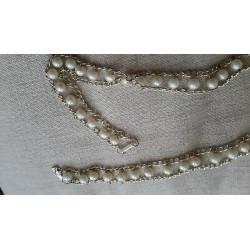 6566) N. 10 Gancini gancetti anelli regola blocca spalline plastica trasparente mm 7